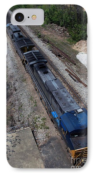 Coal Crossing IPhone Case