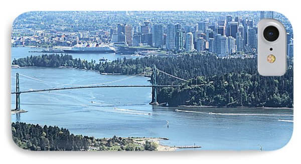 Coal Harbour IPhone Case by Victor K