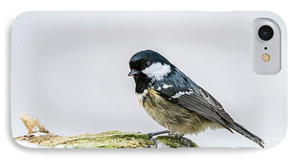 IPhone Case featuring the photograph Coal Tit's Profile by Torbjorn Swenelius
