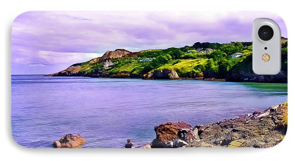 Rocky Coast At Howth IPhone Case by Judi Bagwell