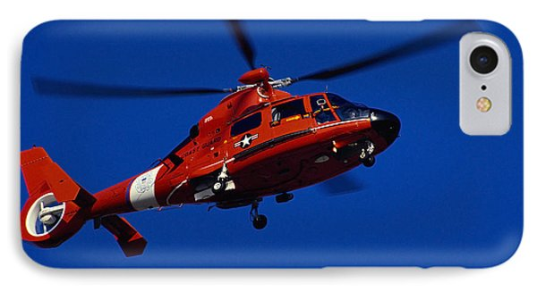 Coast Guard Helicopter Phone Case by Stocktrek Images