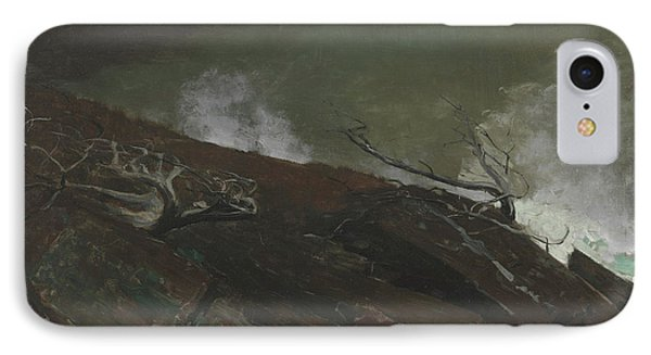 Coast Of Maine IPhone Case by Winslow Homer