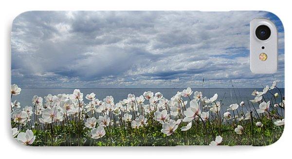 Coastal Backlit Anemones IPhone Case by Kennerth and Birgitta Kullman