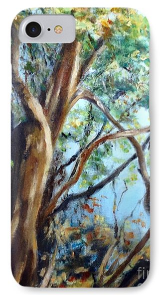 Coastal Forest IPhone Case by Mary Lynne Powers