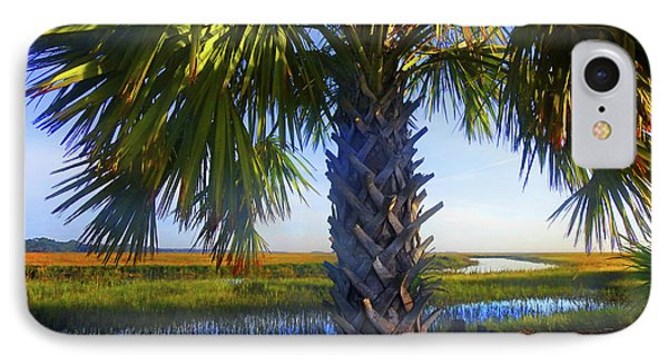 Coastal High Tide  IPhone Case by Laura Ragland
