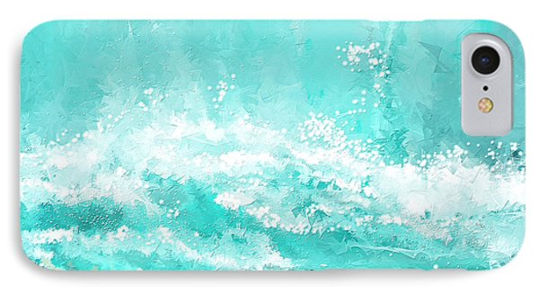 Coastal Inspired Art IPhone Case by Lourry Legarde