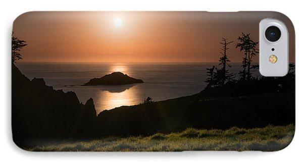 Coastal Moonlight IPhone Case by Leland D Howard