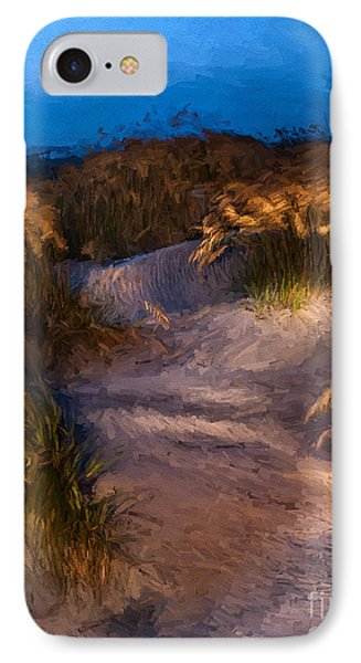 IPhone Case featuring the painting Coastal Passage by Dan Carmichael