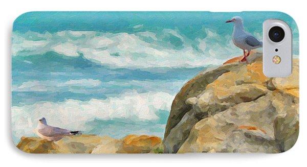 Coastal Rocks IPhone Case by Chris Armytage