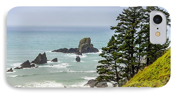 Coastal Scene IPhone Case by Jerry Cahill