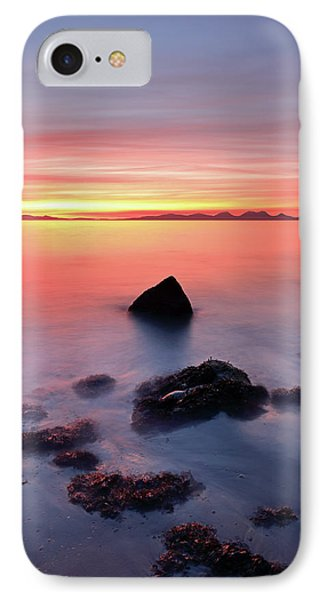 IPhone Case featuring the photograph Coastal Sunset Kintyre by Grant Glendinning