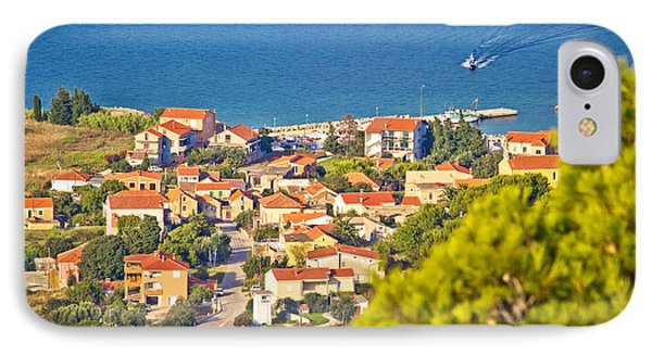 Coastal Village On Island Of Pasman IPhone Case by Brch Photography