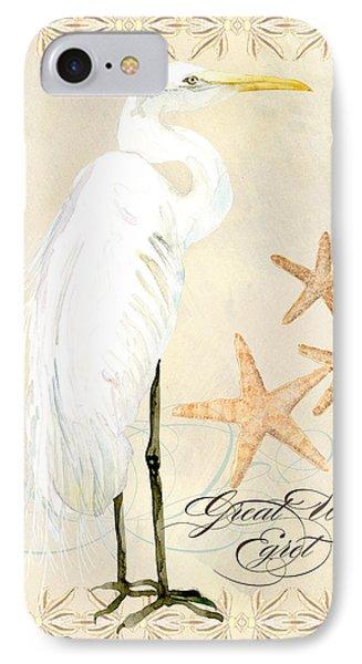Coastal Waterways - Great White Egret IPhone Case
