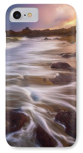 IPhone Case featuring the photograph Coastal Whispers by Darren White