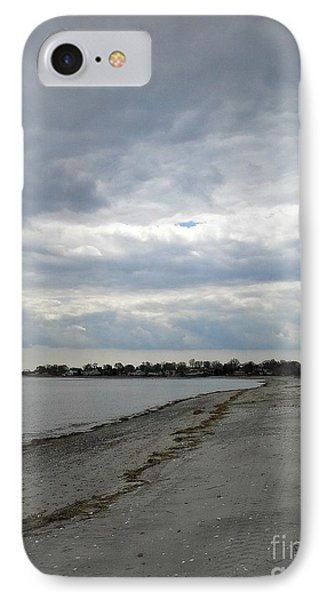 IPhone Case featuring the photograph Coastal Winter by Kristine Nora