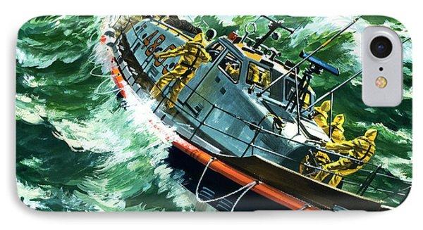 Coastguard Lifeboat IPhone Case