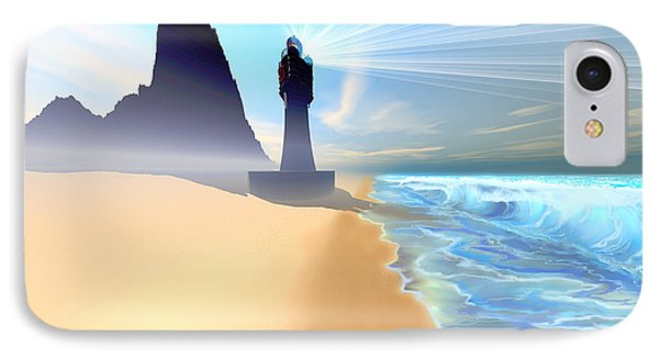 Coastline Phone Case by Corey Ford