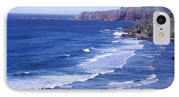 Coastline, Honokohau Bay, Maui, Hawaii IPhone Case