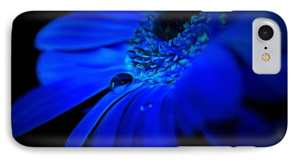 Cobalt Blues IPhone Case by Krissy Katsimbras