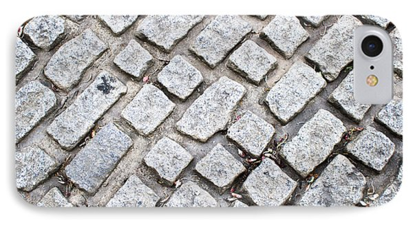 Cobbled Road IPhone Case by Tom Gowanlock