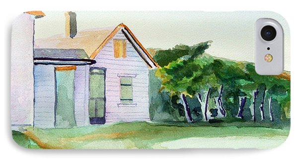Cobb's House After Edward Hopper IPhone Case