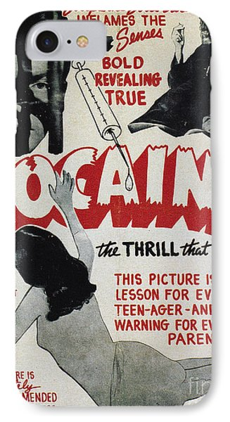 Cocaine Movie Poster, 1940s IPhone Case