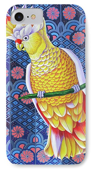 Cockatoo IPhone 7 Case by Jane Tattersfield