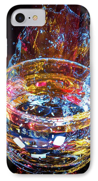 Cocktail Chip IPhone Case by Mark Dunton