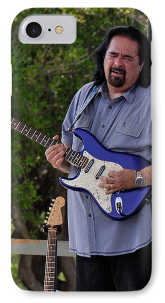 Coco Montoya And His Ocean Blue Fender American Standard Stratoc IPhone Case