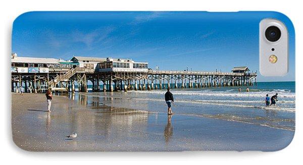 Cocoa Beach Florida Phone Case by Allan  Hughes