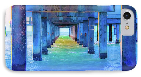 Cocoa Pier IPhone Case by Pamela Williams