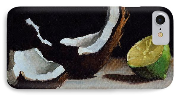 Coconut And Lime IPhone Case