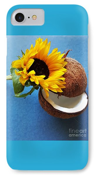 Coconut And Sunflower Harmony IPhone Case