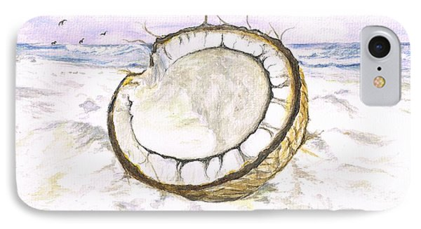 Coconut Island IPhone Case by Teresa White