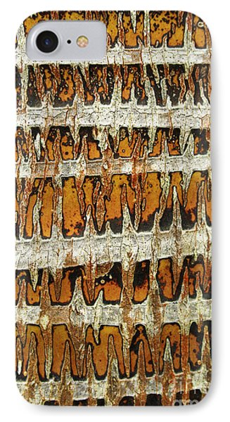 Coconut Palm Bark 3 Phone Case by Brandon Tabiolo - Printscapes