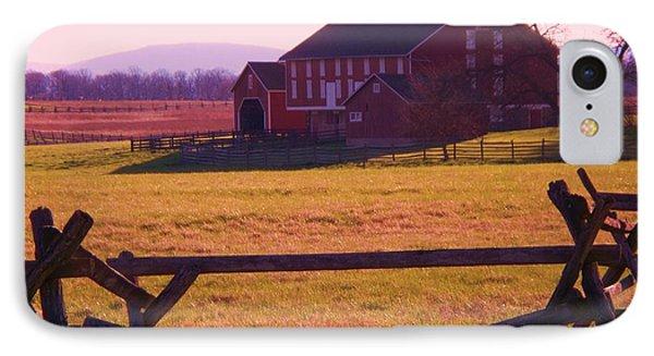 Codori Barn Gettysburg IPhone Case by Eric  Schiabor