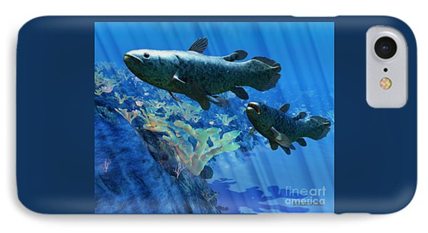 Coelacanth Fish Phone Case by Corey Ford