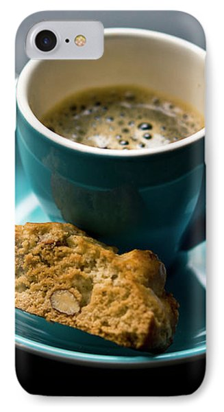 Coffee And Biscotti IPhone Case by Happy Home Artistry