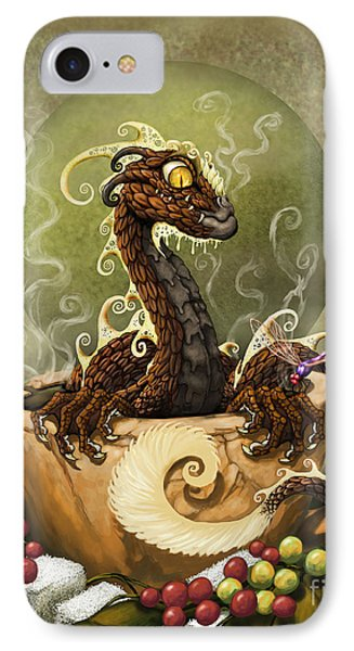 Coffee Dragon IPhone Case