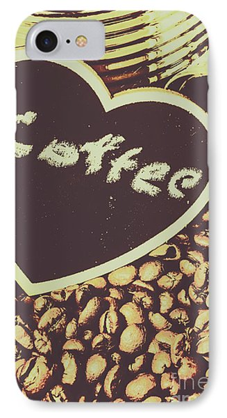 Coffee Heart IPhone Case by Jorgo Photography - Wall Art Gallery