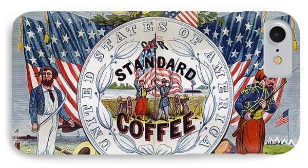 Coffee Label, C1862 Phone Case by Granger