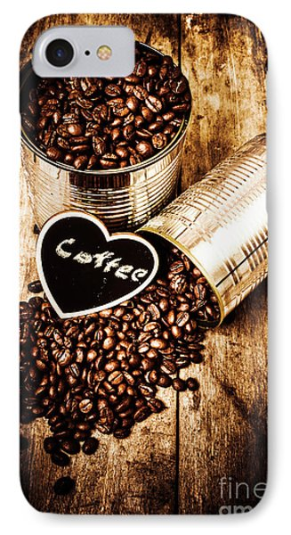 Coffee Shop Love IPhone Case by Jorgo Photography - Wall Art Gallery