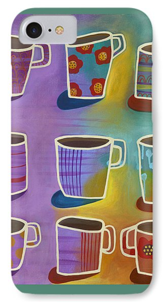 Coffee Time Phone Case by Carla Bank