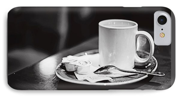 Coffee With Cream IPhone Case by April Reppucci