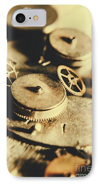 Cog And Gear Workings IPhone Case by Jorgo Photography - Wall Art Gallery
