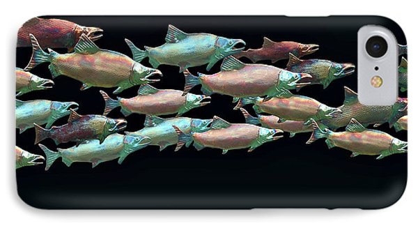 Coho Migration IPhone Case