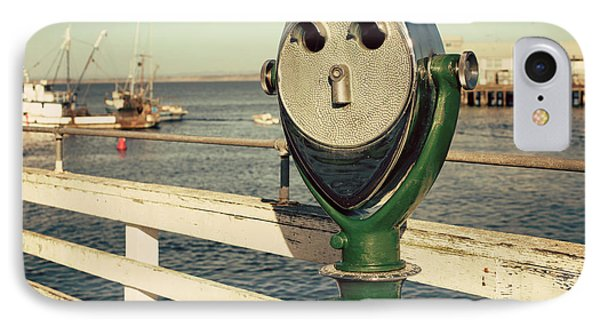Coin-operated Binoculars IPhone Case by Juli Scalzi
