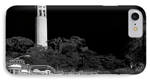 Coit Tower IPhone Case by Anthony Citro