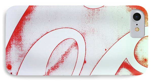 Coke 2 IPhone Case by Laurie Stewart