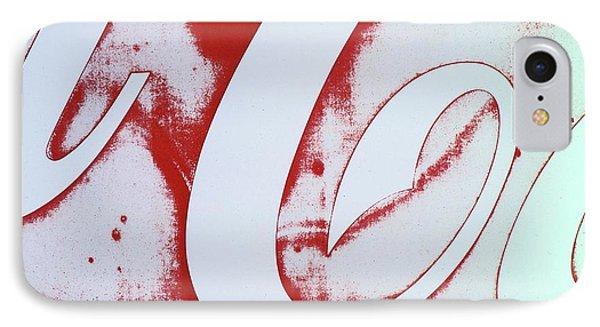 Coke 3 IPhone Case by Laurie Stewart